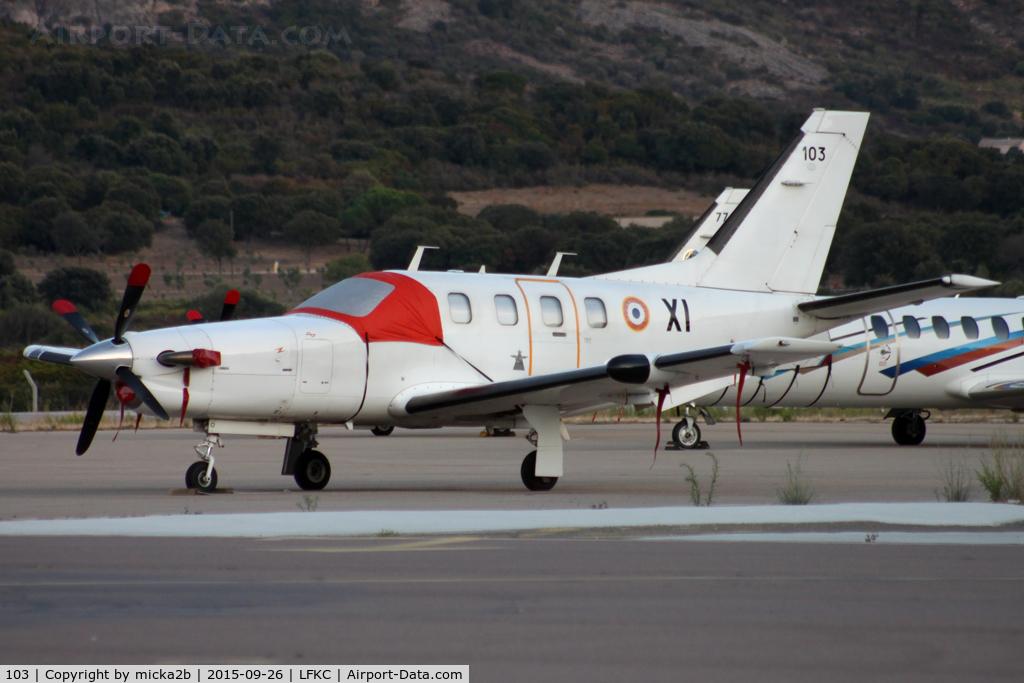 103, Socata TBM-700A C/N 103, Parked