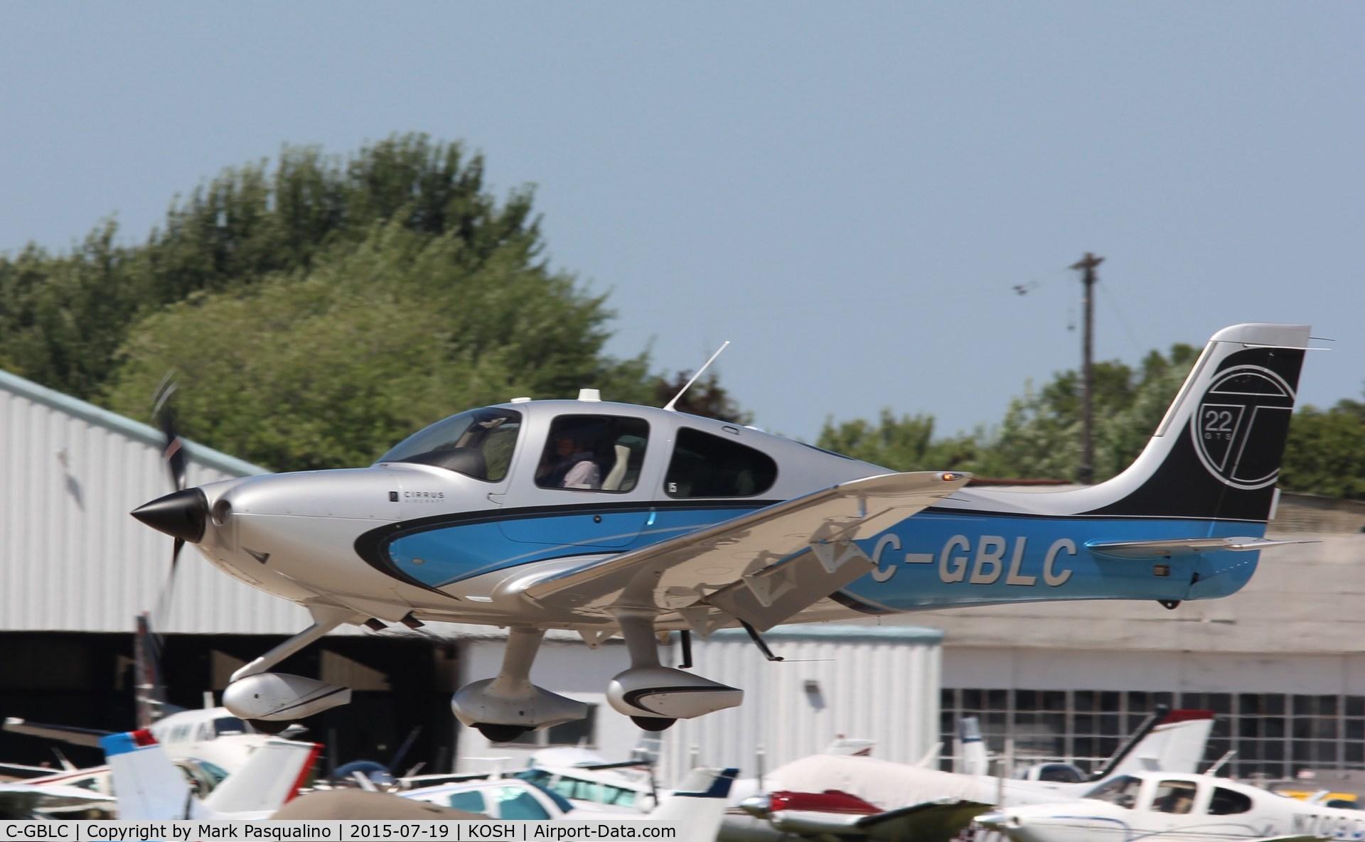 C-GBLC, 2013 Cirrus SR22T C/N 0659, Cirrus SR22T