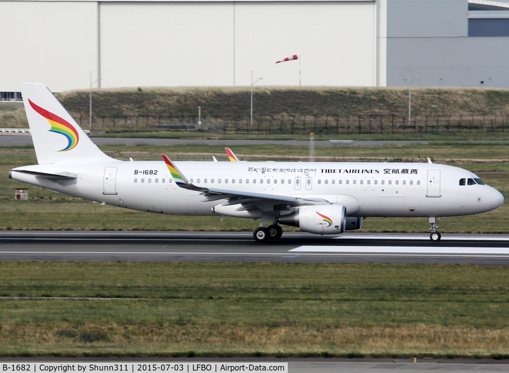 B-1682, 2014 Airbus A320-214 C/N 6626, Delivery day...