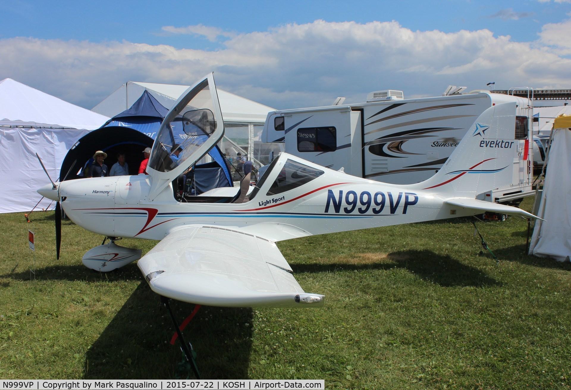 N999VP, 2014 Evektor-Aerotechnik Harmony LSA C/N 2014 1717, Evektor Harmony LSA