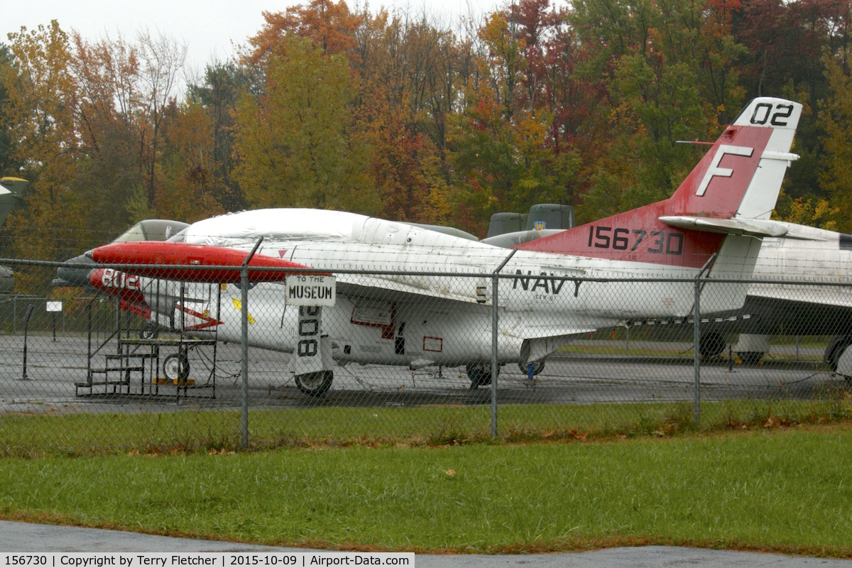 156730, North American T-2C Buckeye C/N 318-45, At Empire State Aerosciences Museum. NY