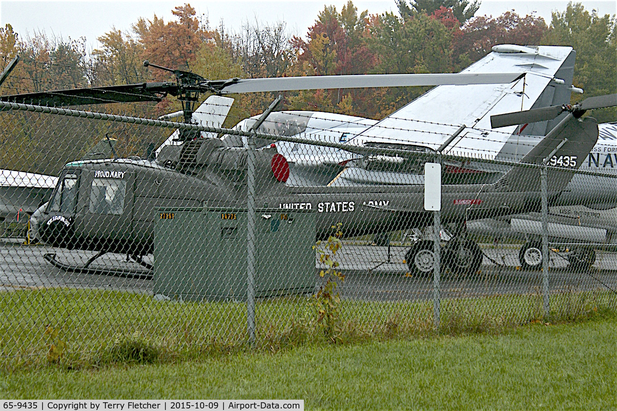 65-9435, 1965 Bell UH-1C Iroquois C/N 1335, At Empire State Aerosciences Museum. NY