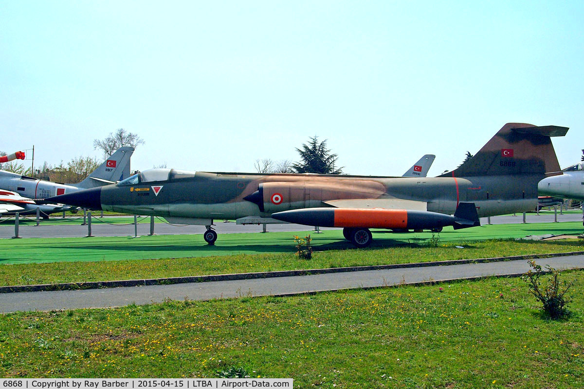 6868, Aeritalia F-104S Starfighter C/N 783-1168, Aeritalia F-104S Starfighter [783-1168] (Turkish Air Force) Istanbul-Ataturk~TC 15/04/2015
