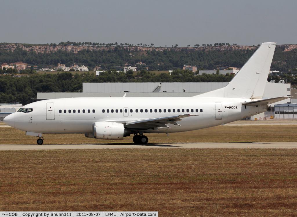 F-HCOB, 1993 Boeing 737-59D C/N 26422, Taking off from rwy 31L