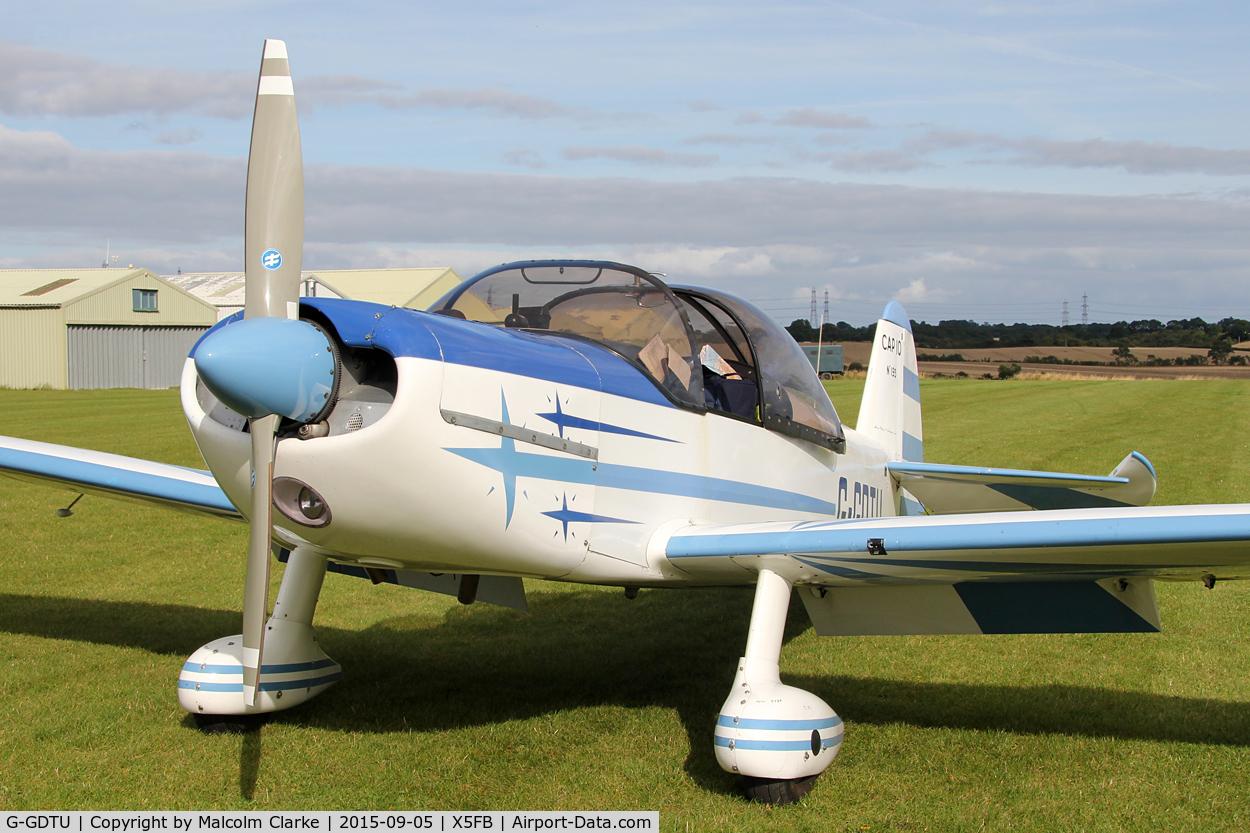 G-GDTU, 1983 Mudry CAP-10B C/N 193, Mudry CAP-10B, Fishburn Airfield, September 5th 2015.