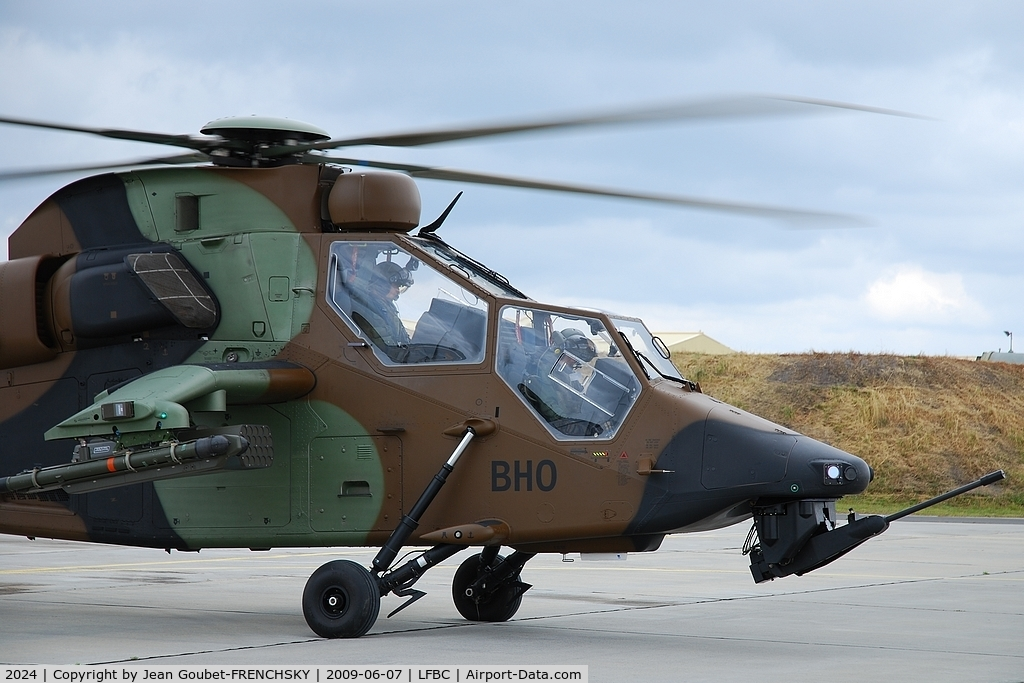 2024, Eurocopter EC-665 Tigre HAP C/N 2024, French Air Force