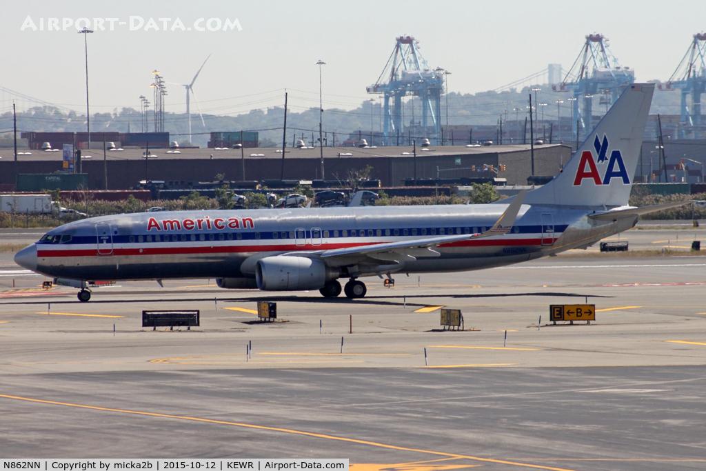 N862NN, 2010 Boeing 737-823 C/N 30905, Taxiing