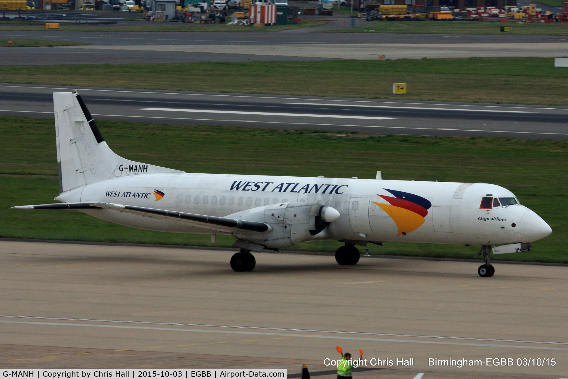 G-MANH, 1989 British Aerospace ATP C/N 2017, West Atlantic Airlines