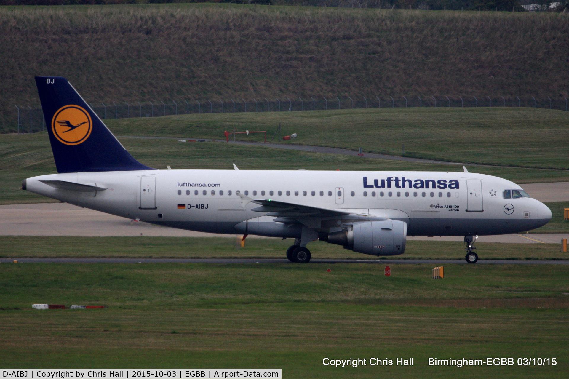 D-AIBJ, 2012 Airbus A319-112 C/N 5293, Lufthansa