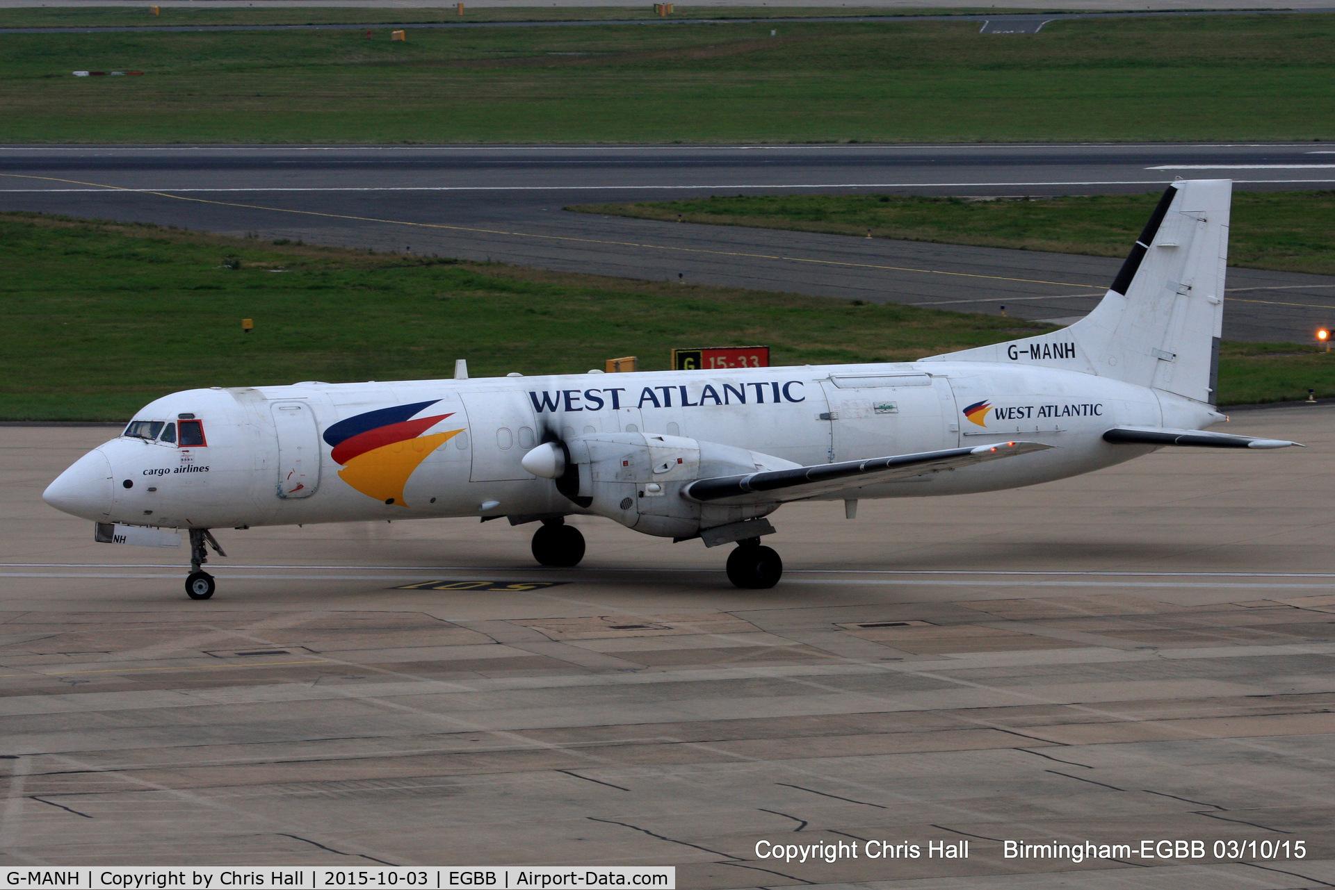 G-MANH, 1989 British Aerospace ATP C/N 2017, West Atlantic Airlines