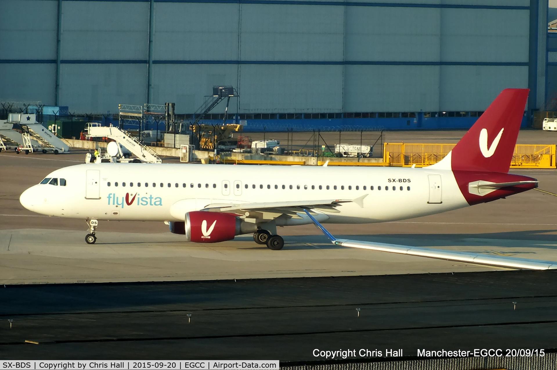 SX-BDS, 1998 Airbus A320-214 C/N 0879, Aerovista