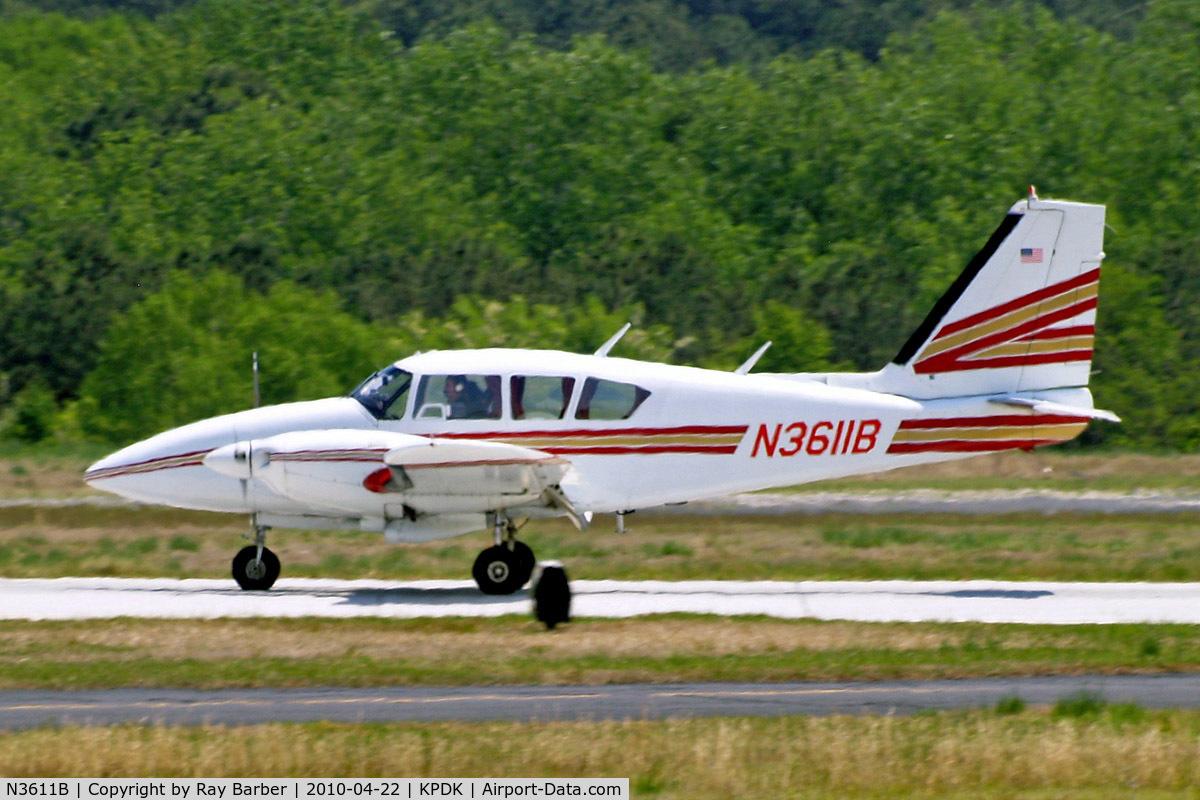 N3611B, 1970 Piper PA-23-250 Aztec E C/N 27-4579, Piper PA-23-250 Aztec E [27-4579] Atlanta-Dekalb Peachtree~N 22/04/2010