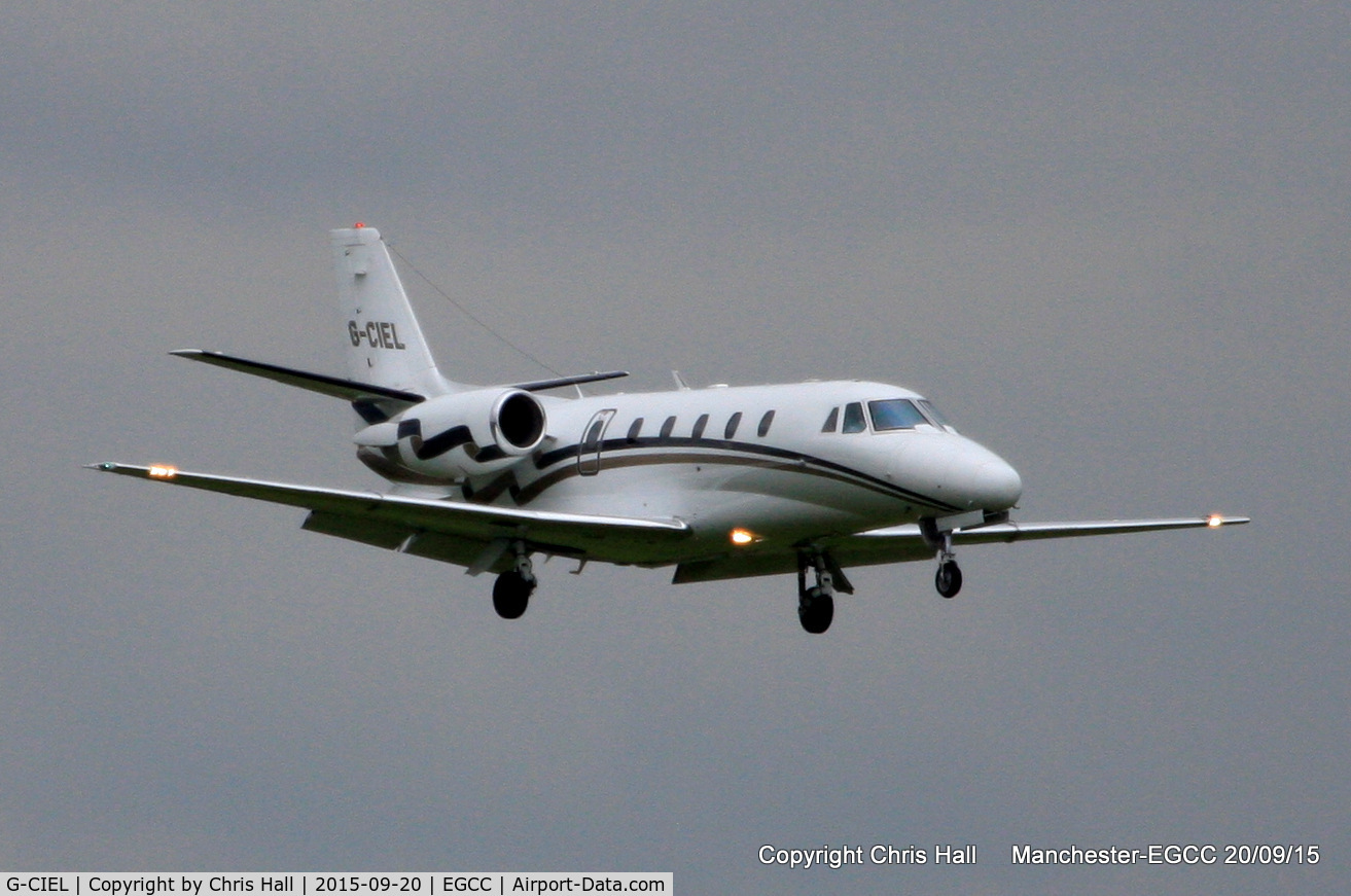 G-CIEL, 2002 Cessna 560XL Citation Excel C/N 560-5247, London Executive Aviation