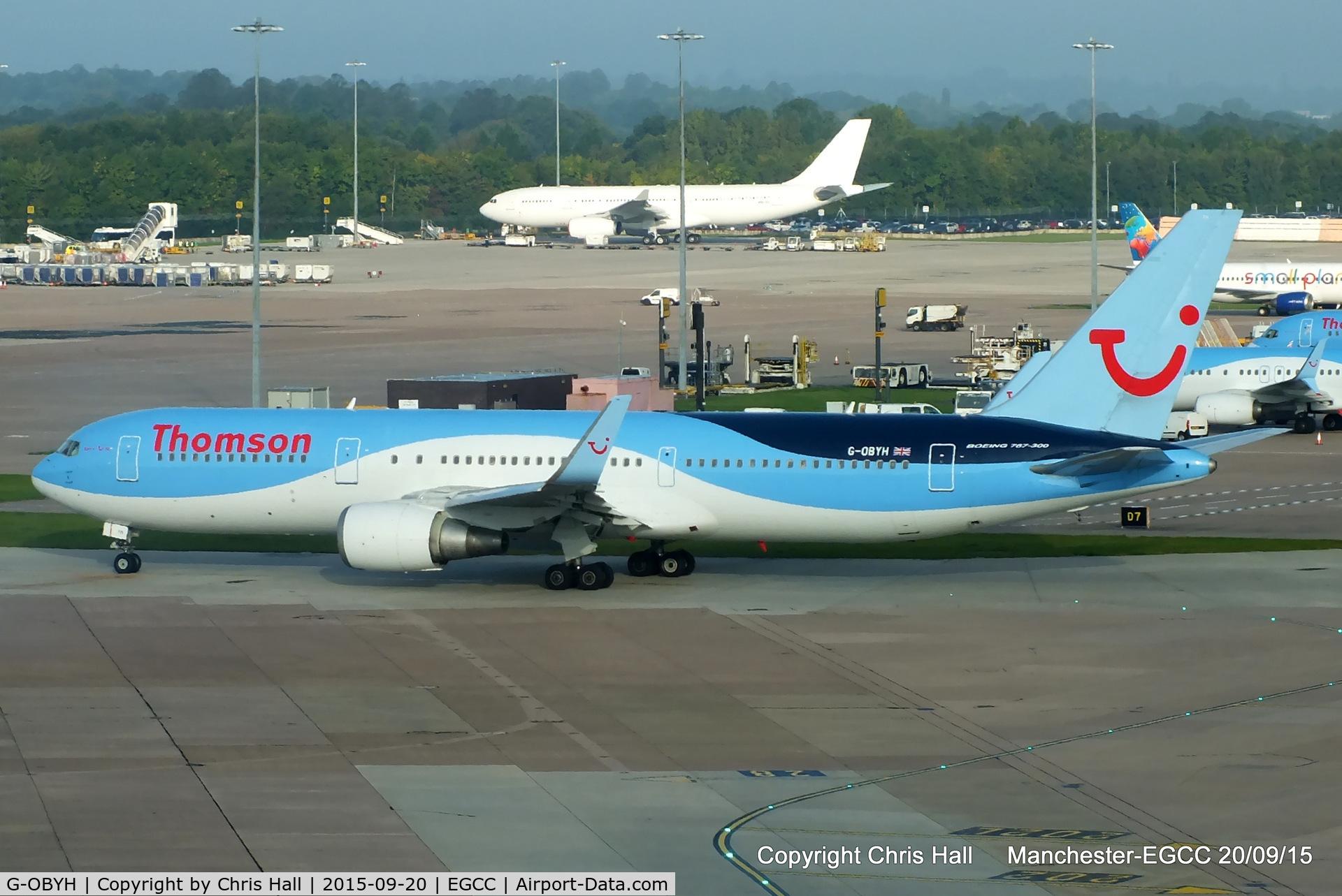 G-OBYH, 1999 Boeing 767-304/ER C/N 28883, Thomson