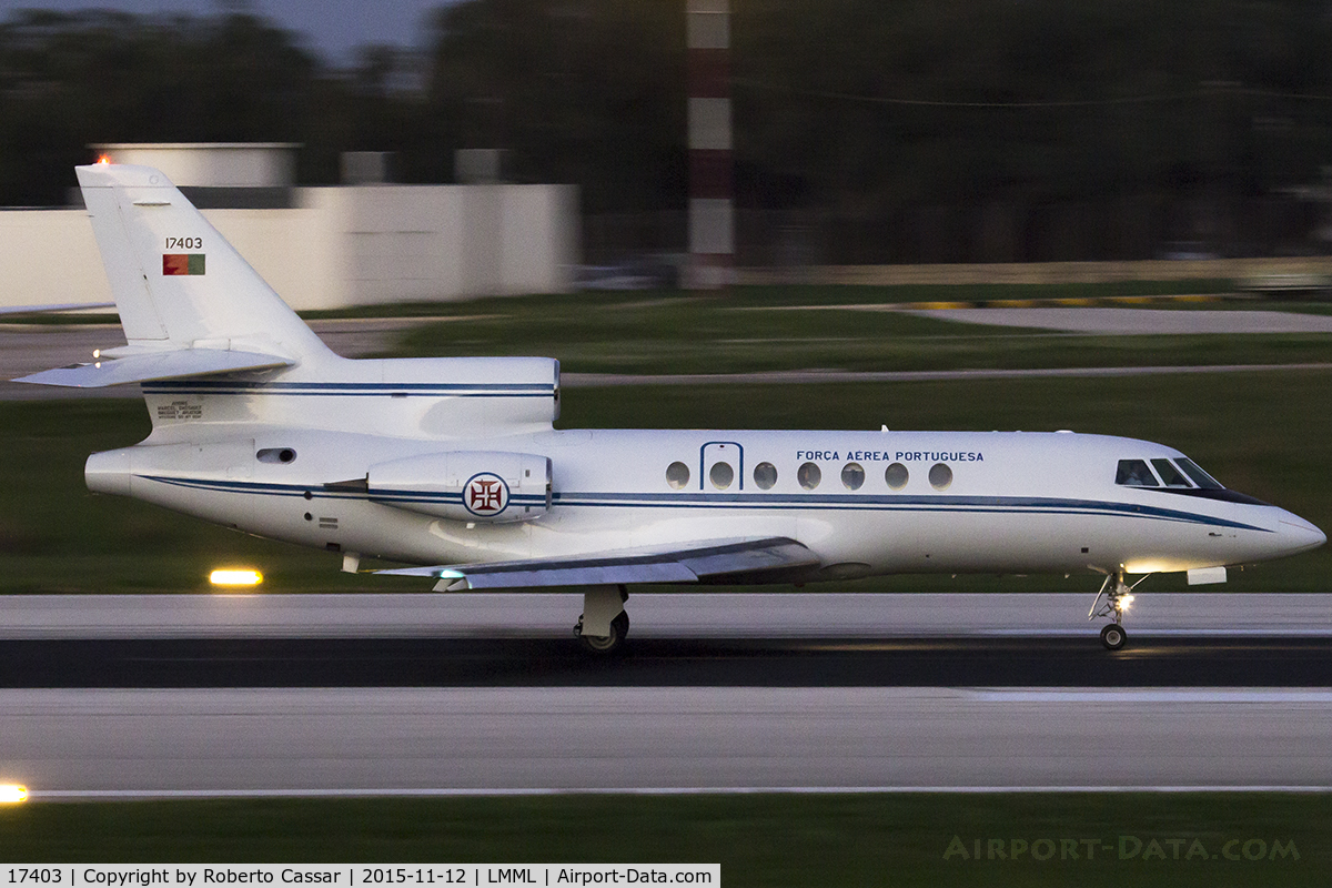 17403, 1990 Dassault Falcon 50 C/N 221, Valletta Immigration Summit 2015