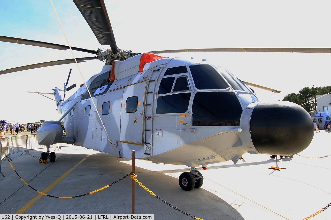 162, Aérospatiale SA-321G Super Frelon C/N 162, Aerospatiale SA-321G Super Frelon, Preserved at Lanvéoc-Poulmic (LFRL) Open day 2015