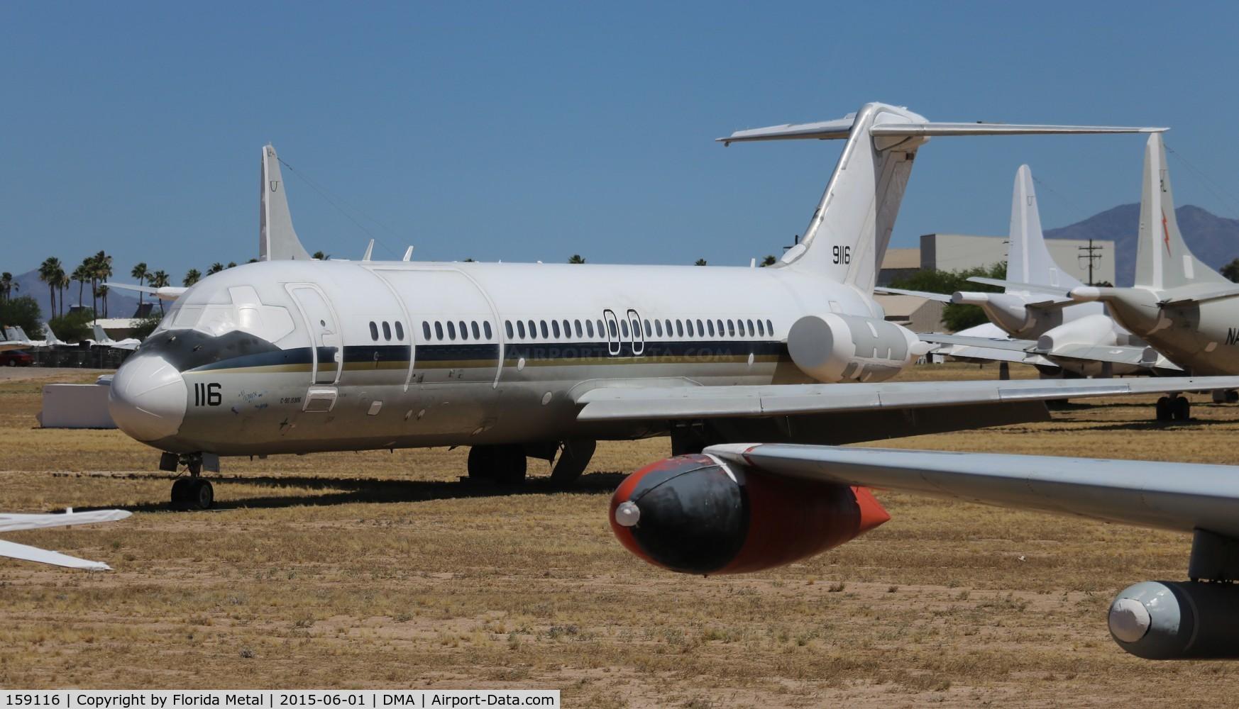 159116, 1973 McDonnell Douglas C-9B Skytrain II C/N 47580, Douglas C-9B