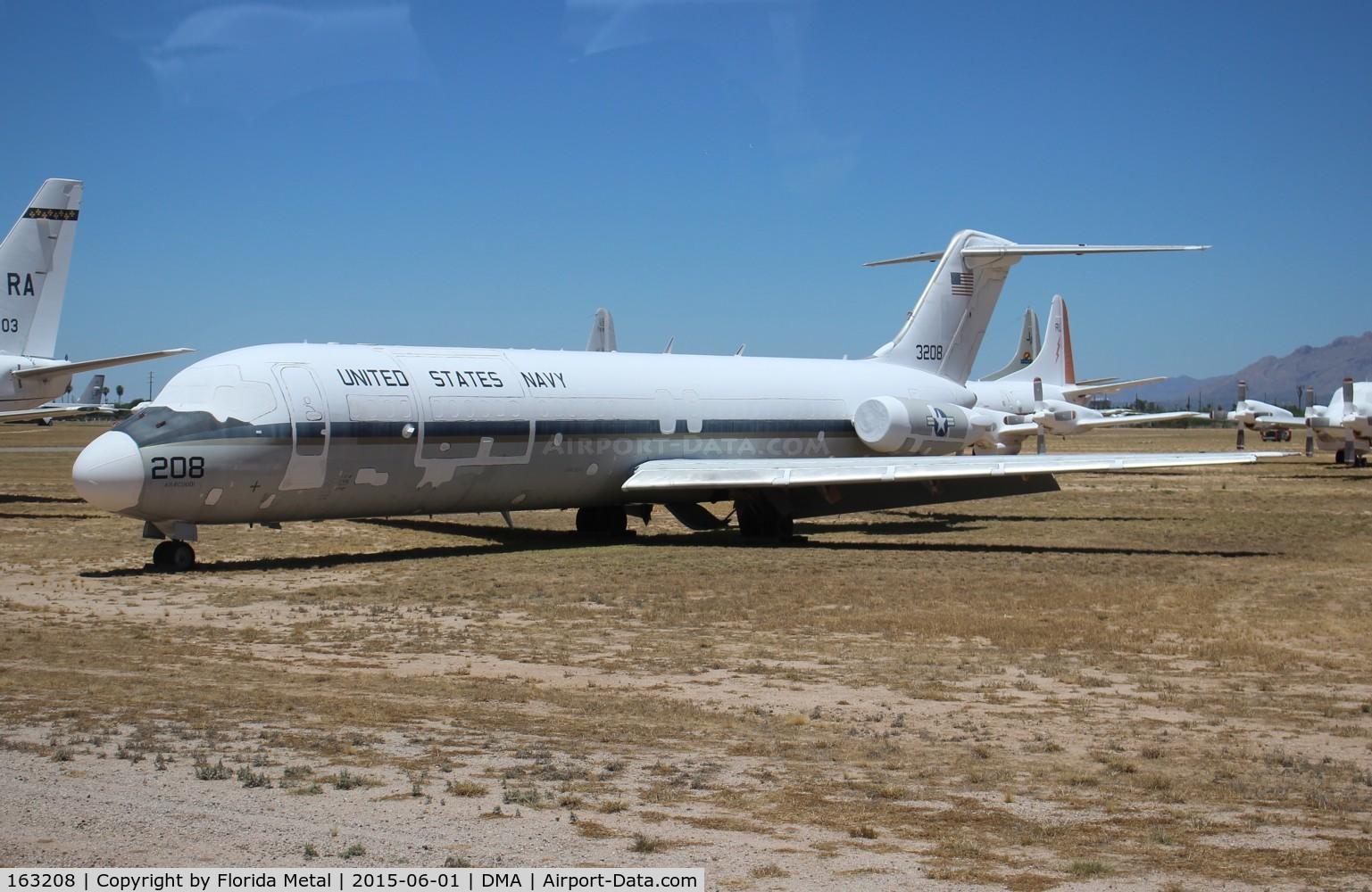 163208, 1974 McDonnell Douglas C-9B Skytrain II C/N 47639, C-9B Skytrain