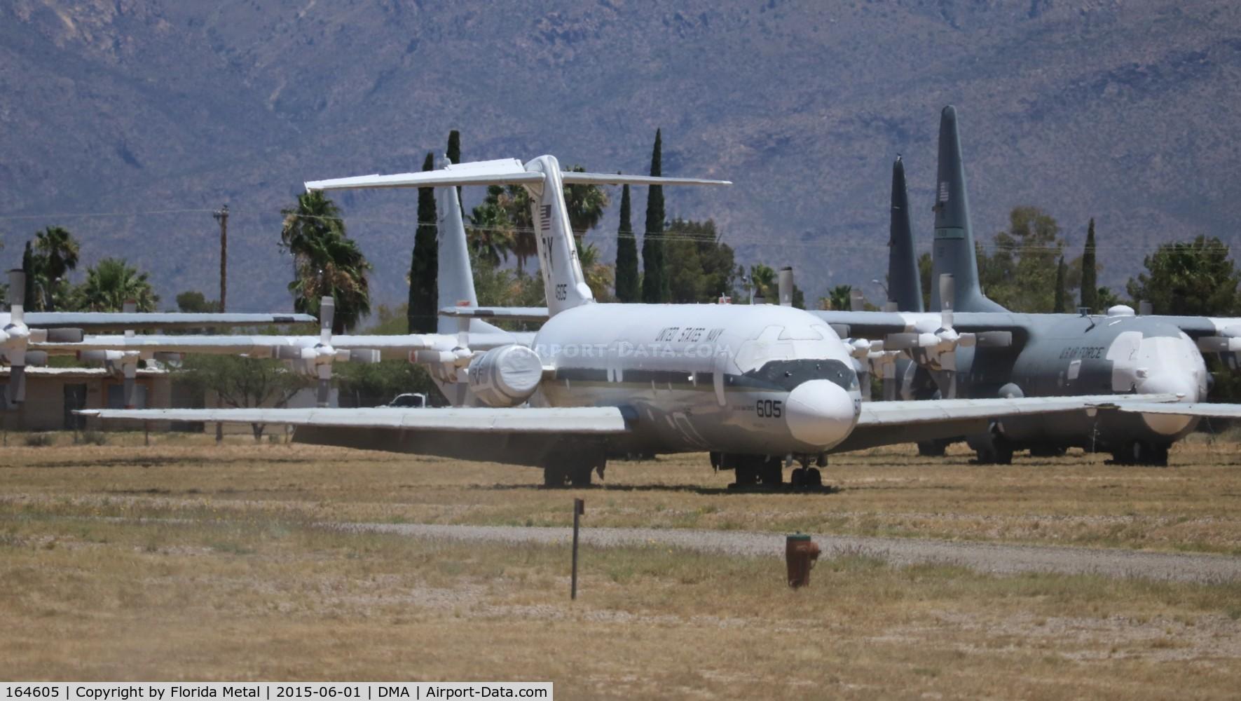 164605, 1972 Douglas DC-9-33F (RC) C/N 47545, C-9B Skytrain