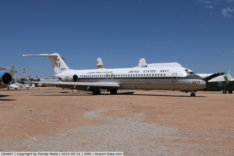 164607, 1972 McDonnell Douglas C-9B Skytrain II C/N 47428, C-9B Skytrain