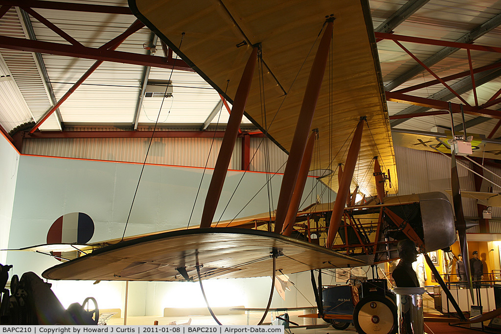 BAPC210, Avro 504J Replica C/N BAPC210, Preserved at the Solent Sky Museum, Southampton.