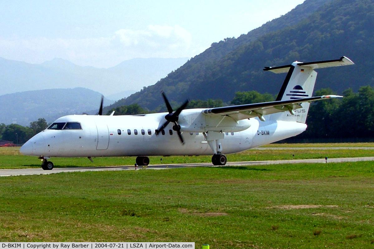 D-BKIM, 1993 De Havilland Canada DHC-8-311 Dash 8 C/N 356, De Havilland Canada DHC-8-314A Dash 8 [356] (Cirrus Air) Lugano~HB 21/07/2004