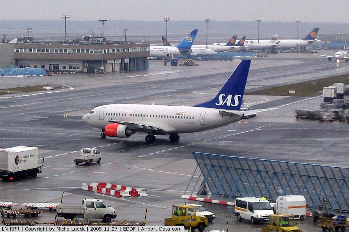 LN-RRR, 1999 Boeing 737-683 C/N 28309, At Frankfurt