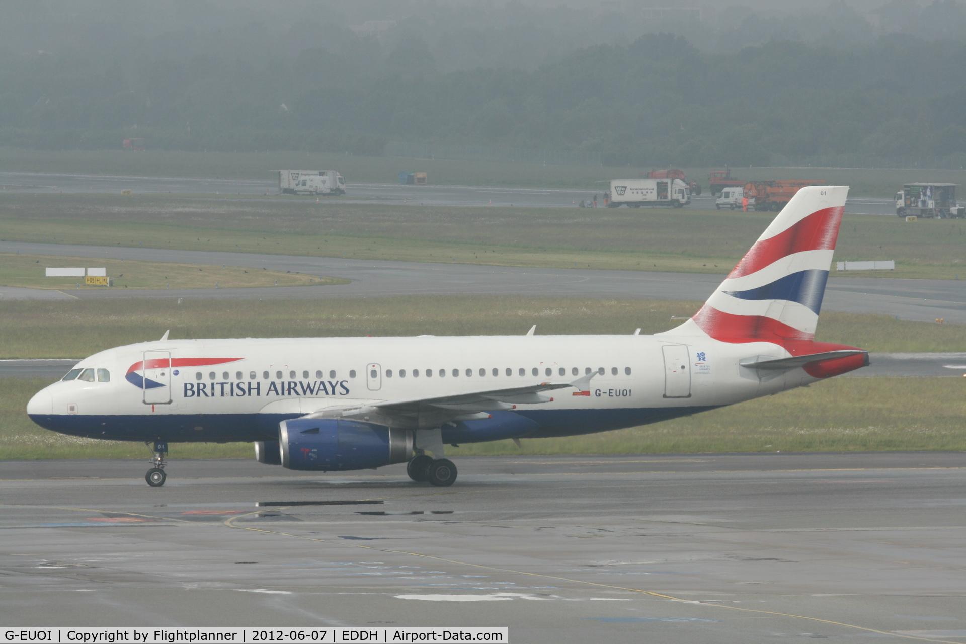 G-EUOI, 2001 Airbus A319-131 C/N 1606, Airbus A319-131 British Airways