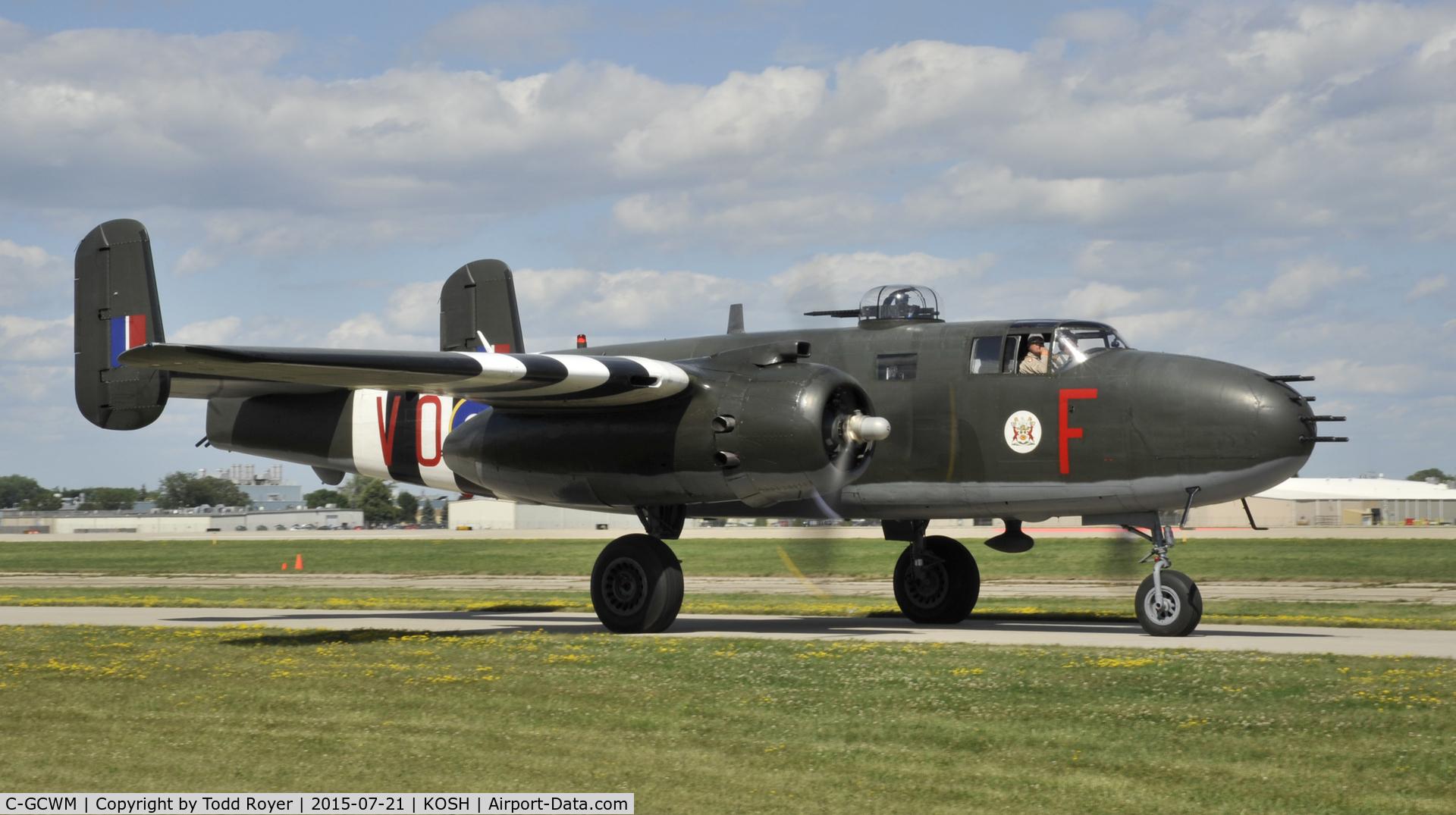 C-GCWM, 1945 North American B-25J Mitchell C/N 108-47734, Airventure 2015