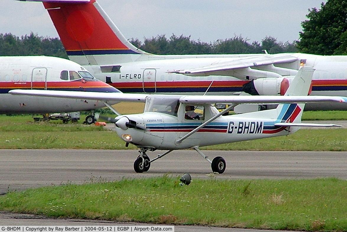 G-BHDM, 1979 Reims F152 C/N 1684, R/Cessna F.152 [1684] Kemble~G 11/07/2004