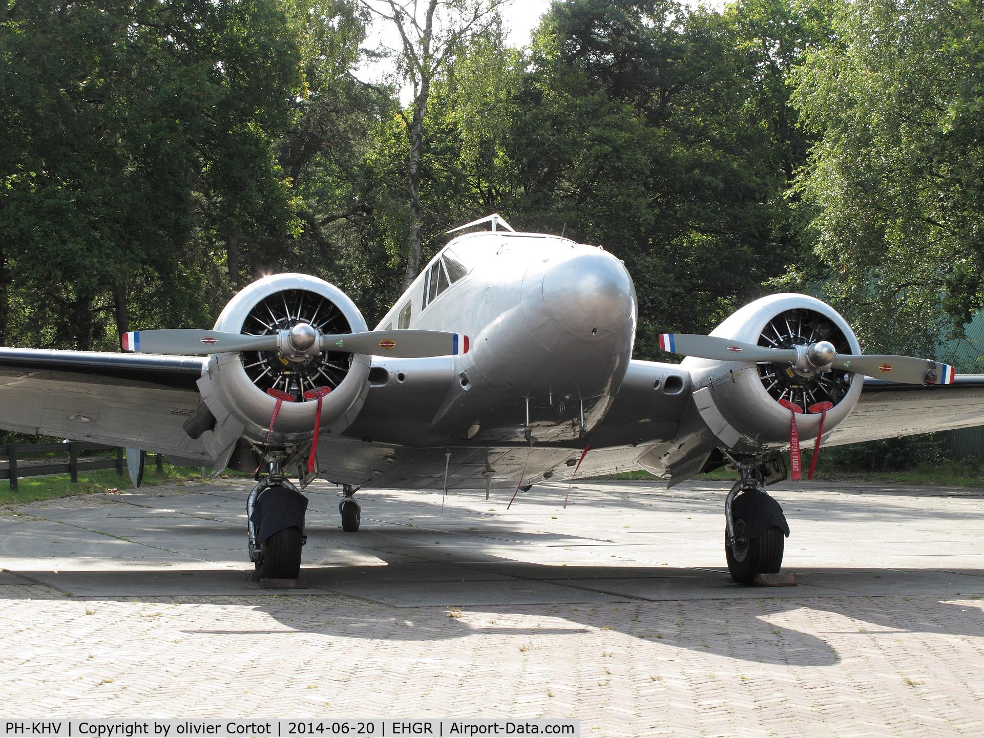 PH-KHV, 1952 Beech Expeditor 3NM (D18S) C/N A-904/CA-254, Gilze Rijen 2014