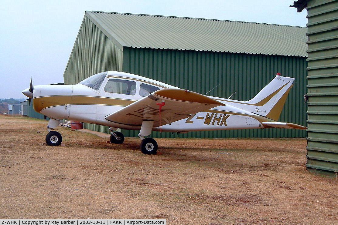 Z-WHK, Beech A23 Musketeer II C/N M-717, Beech A23 Musketeer II [M-717] Krugersdorp~ZS 11/10/2003