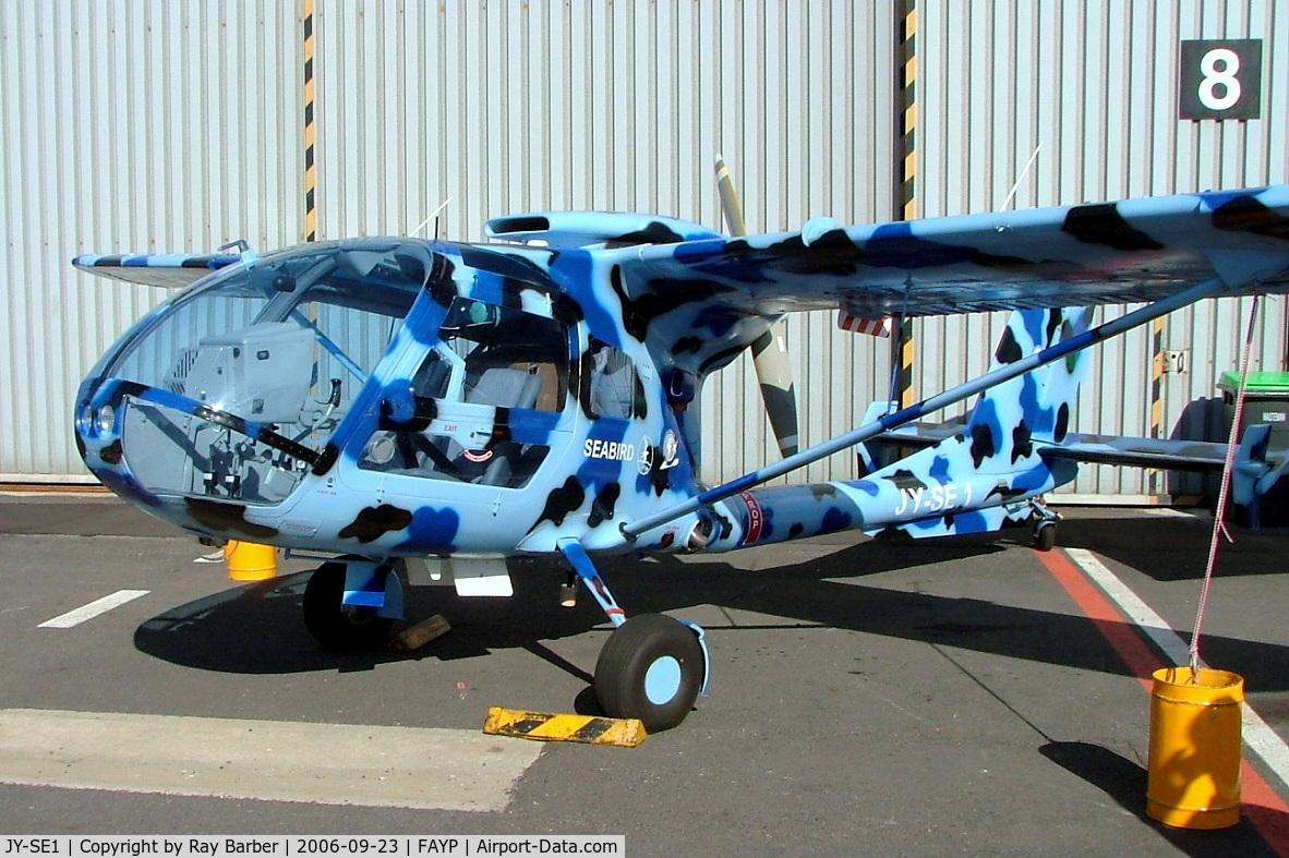 JY-SE1, 2006 Seabird Aviation SB7L-360A Seeker C/N SAJ06001, Seabird SB7L 360A Seeker [SAJ 06001] Ysterplaat~ZS 23/09/2006