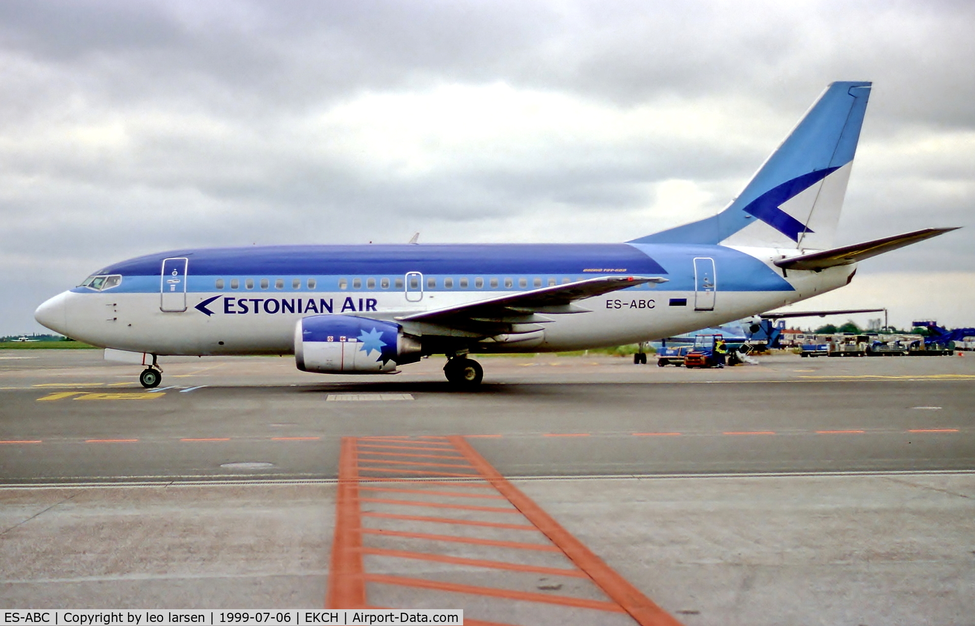 ES-ABC, 1995 Boeing 737-5Q8 C/N 26324, Copenhagen 6.7.99