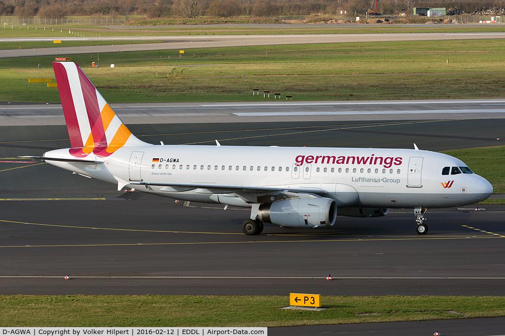 D-AGWA, 2006 Airbus A319-132 C/N 2813, at dus