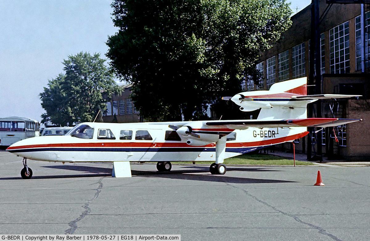 Aircraft G-BEDR (1976 Britten-Norman BN-2A Mk III-2 Trislander C/N