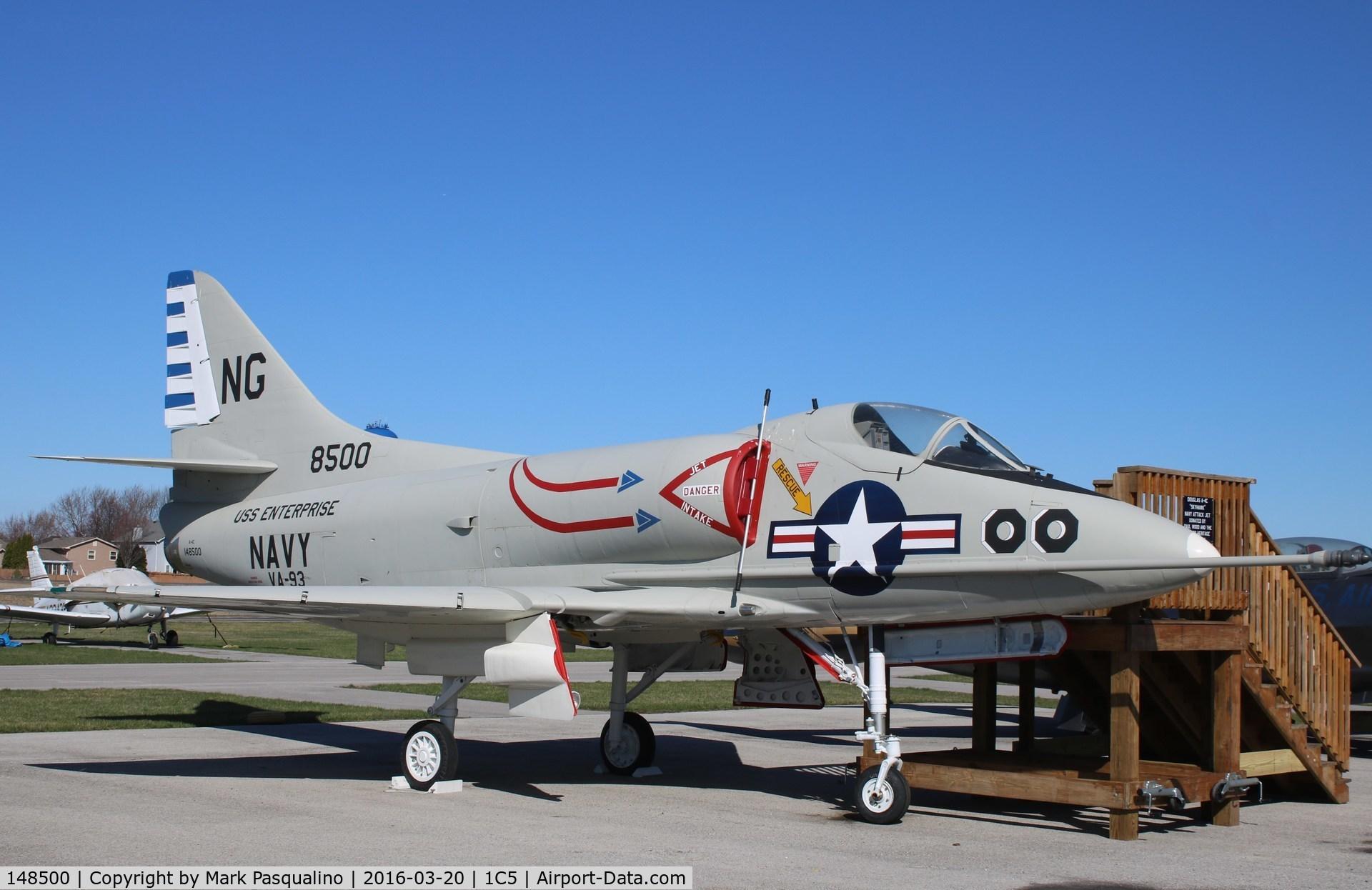 148500, Douglas A-4C Skyhawk C/N 12693, Douglas A-4C