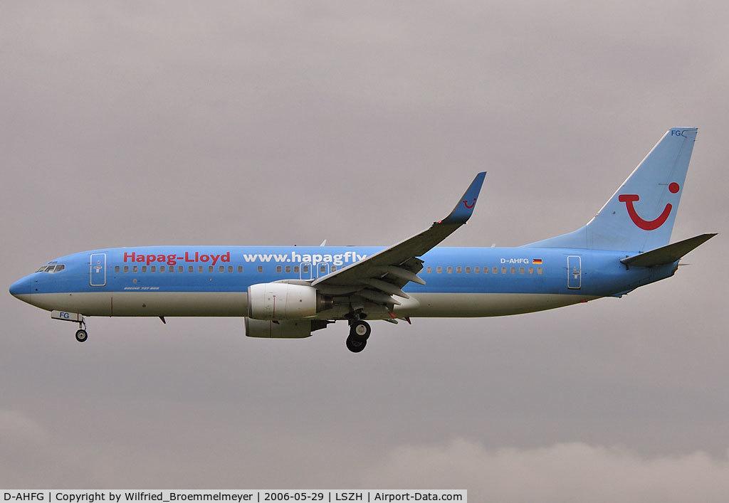 D-AHFG, 1998 Boeing 737-8K5 C/N 27989, Hapag Lloyd