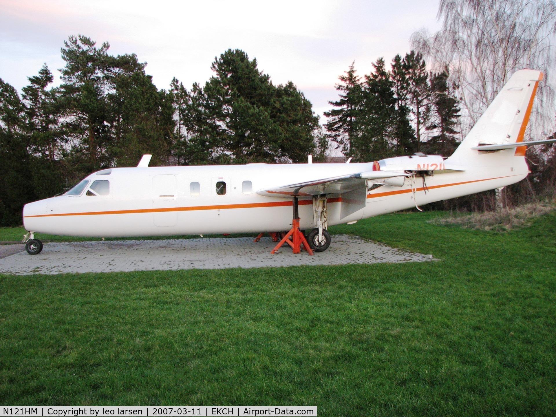 N121HM, Aero Commander 1121 Jet Commander C/N 18, Copenhagen 11.3.07