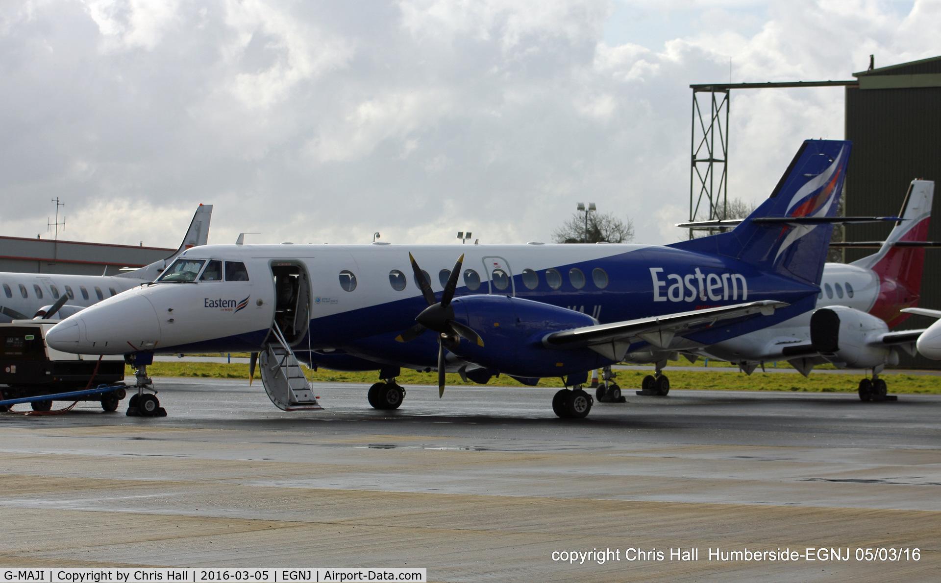 G-MAJI, 1993 British Aerospace Jetstream 41 C/N 41011, Eastern Airways