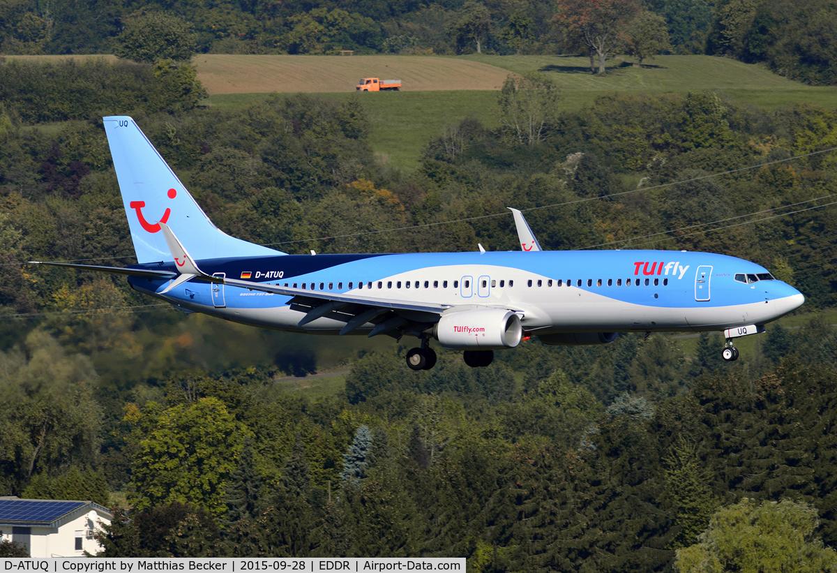 D-ATUQ, 2015 Boeing 737-8K5 C/N 41663, D-ATUQ