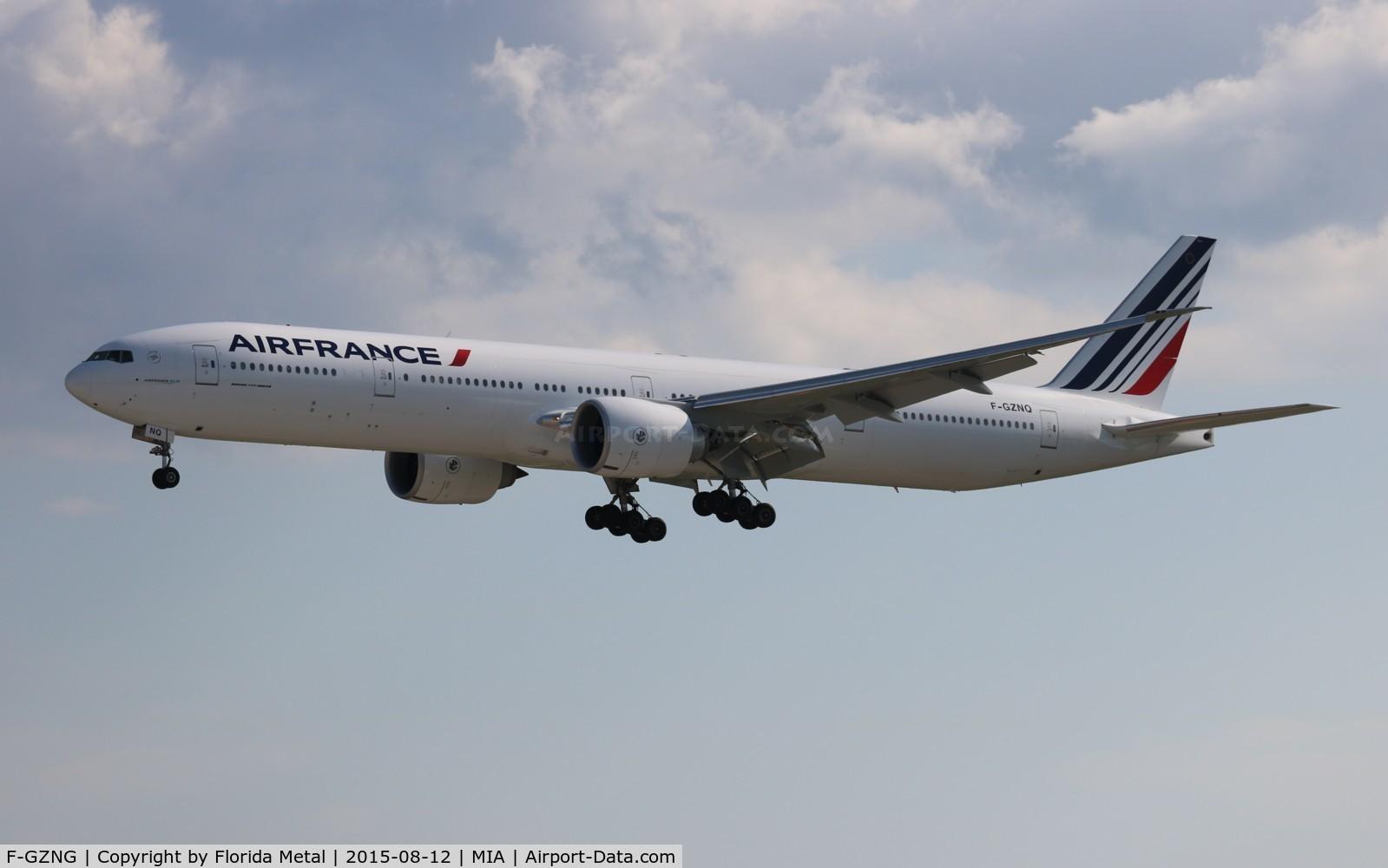 F-GZNG, 2009 Boeing 777-328/ER C/N 32968, Air France