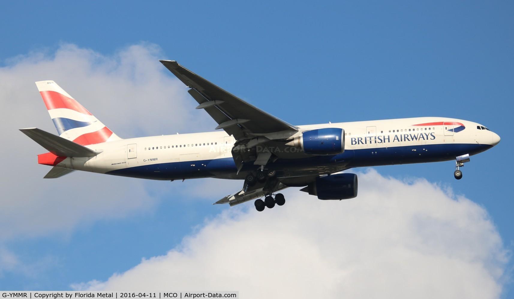 G-YMMR, 2008 Boeing 777-236 C/N 36516, British