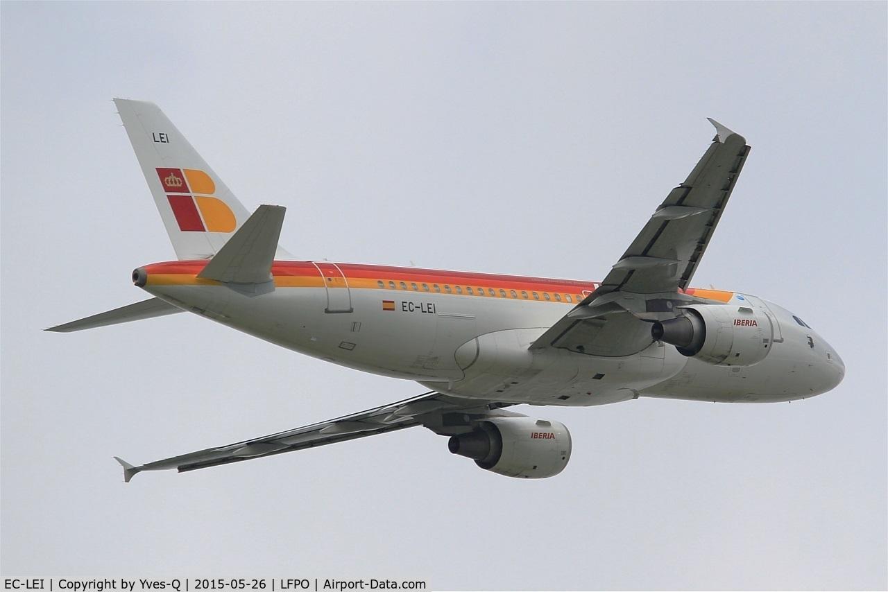 EC-LEI, 2008 Airbus A319-111 C/N 3744, Airbus A319-111, Take off Rwy 08, Paris-Orly Airport (LFPO-ORY)