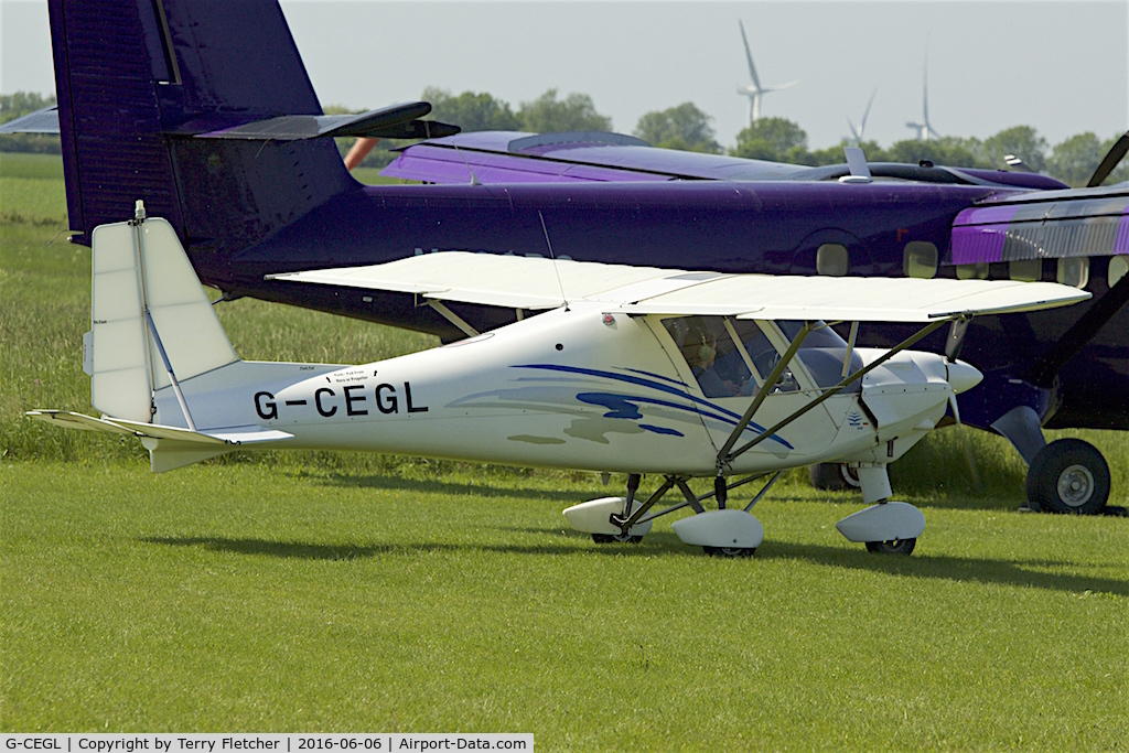 G-CEGL, 2006 Comco Ikarus C42 FB80 C/N 0609-6848, At Chatteris UK