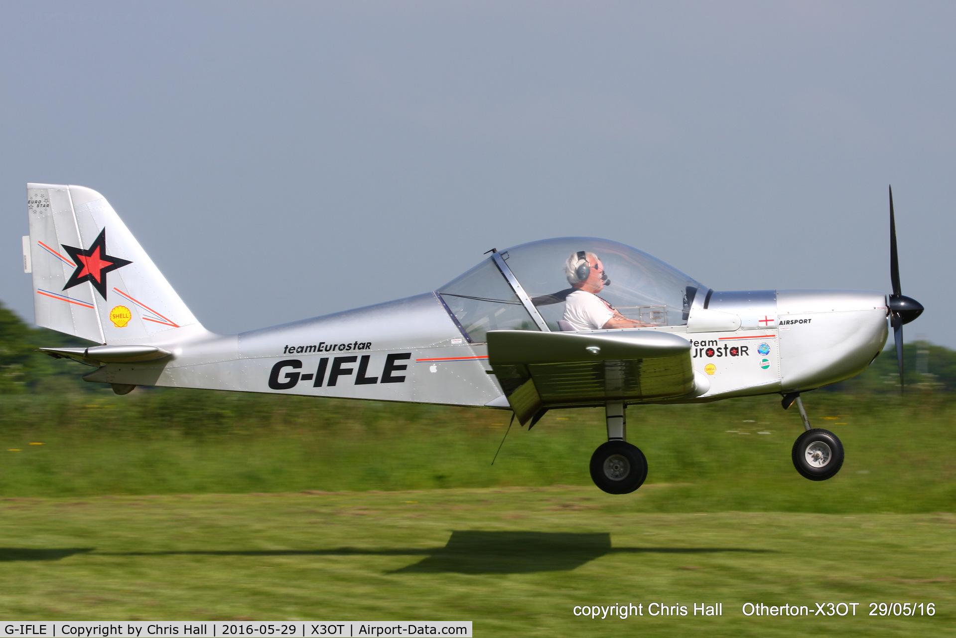 G-IFLE, 2004 Cosmik EV-97 TeamEurostar UK C/N 2113, at Otherton