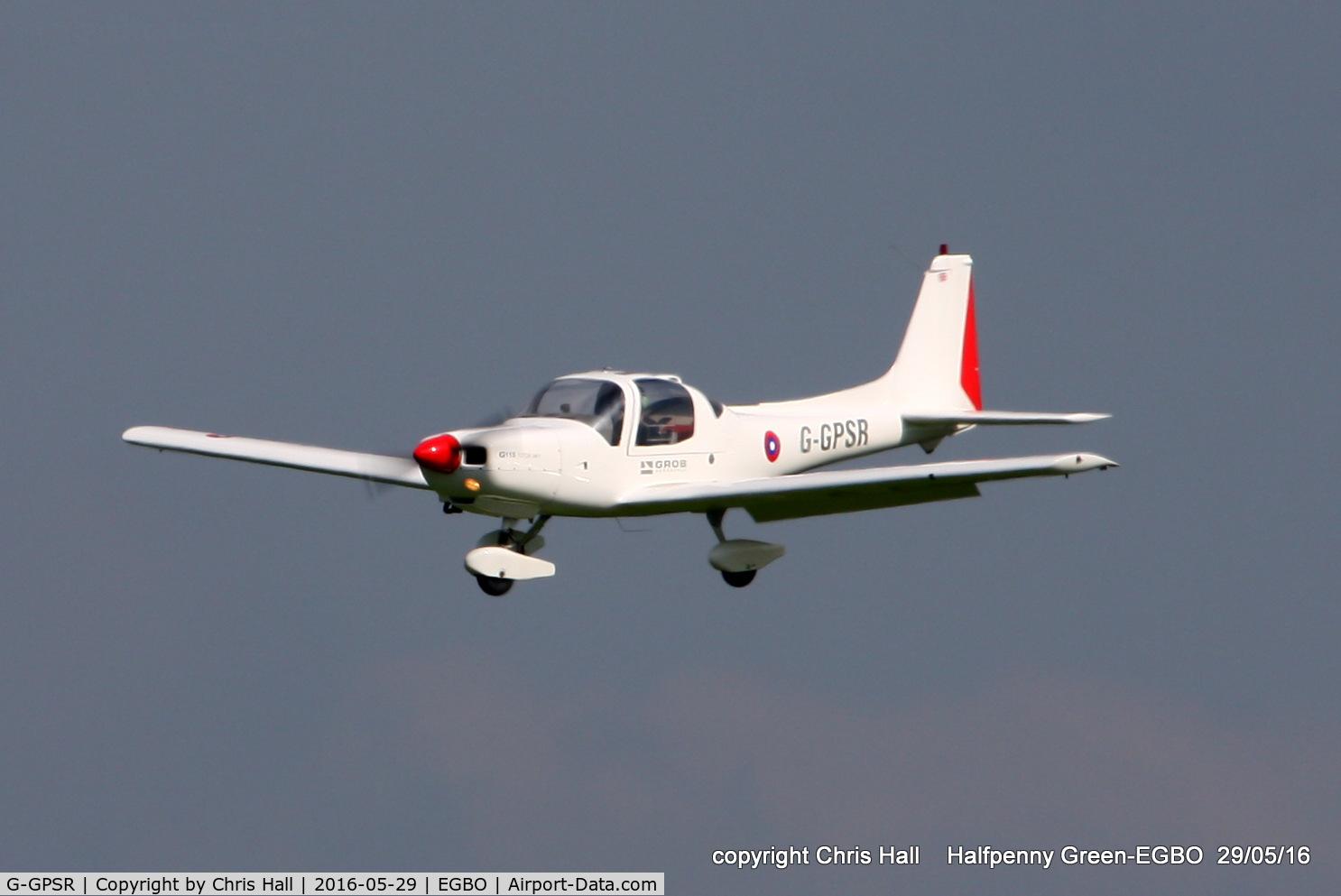 G-GPSR, 1988 Grob G-115 C/N 8024, at Halfpenny Green