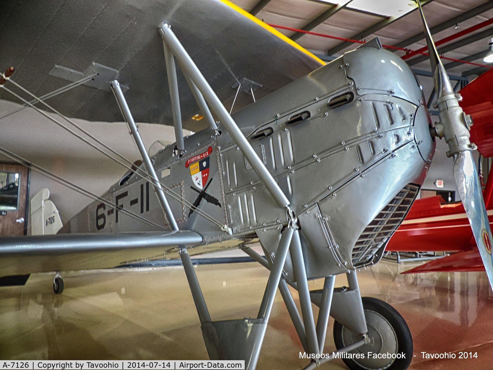 A-7126, Boeing FB-5 C/N 832, Boeing FB-5 Hawk