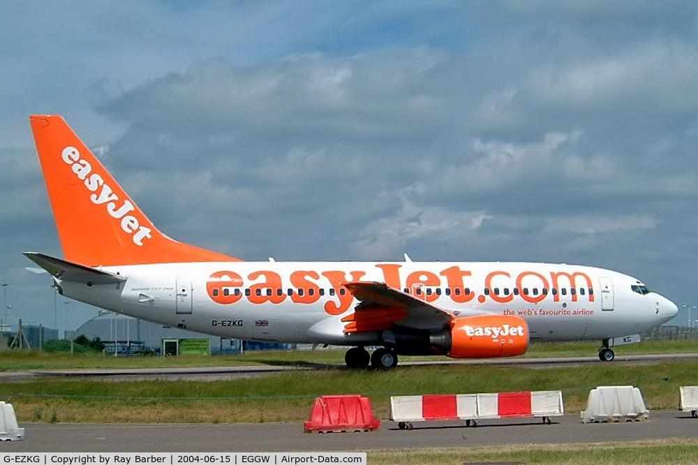 G-EZKG, 2004 Boeing 737-73V C/N 32428, Boeing 737-73V [32428] (EasyJet) Luton~G 15/06/2004