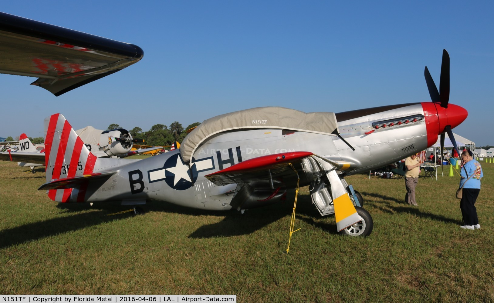 N151TF, 1944 North American P-51D Mustang C/N 122-31591/44-63865, Tempus Fugit